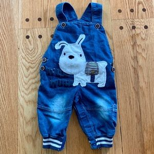 Other - NWOT doggie jean overalls. Size 90 or 9-12 months.